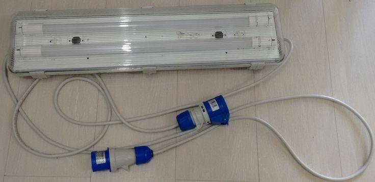 Plafoniera LED con cavo e aggancio per elettricità