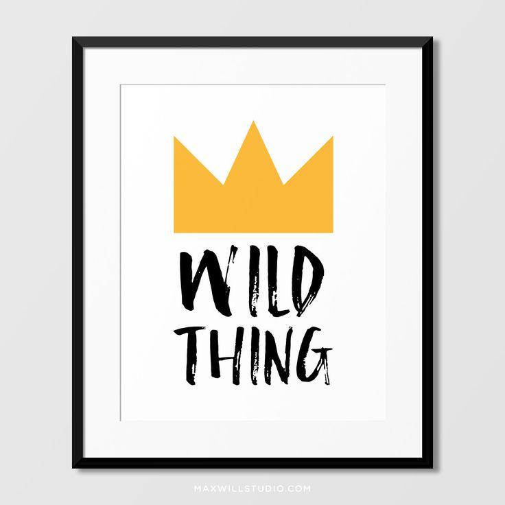 Wild Thing Wall Art