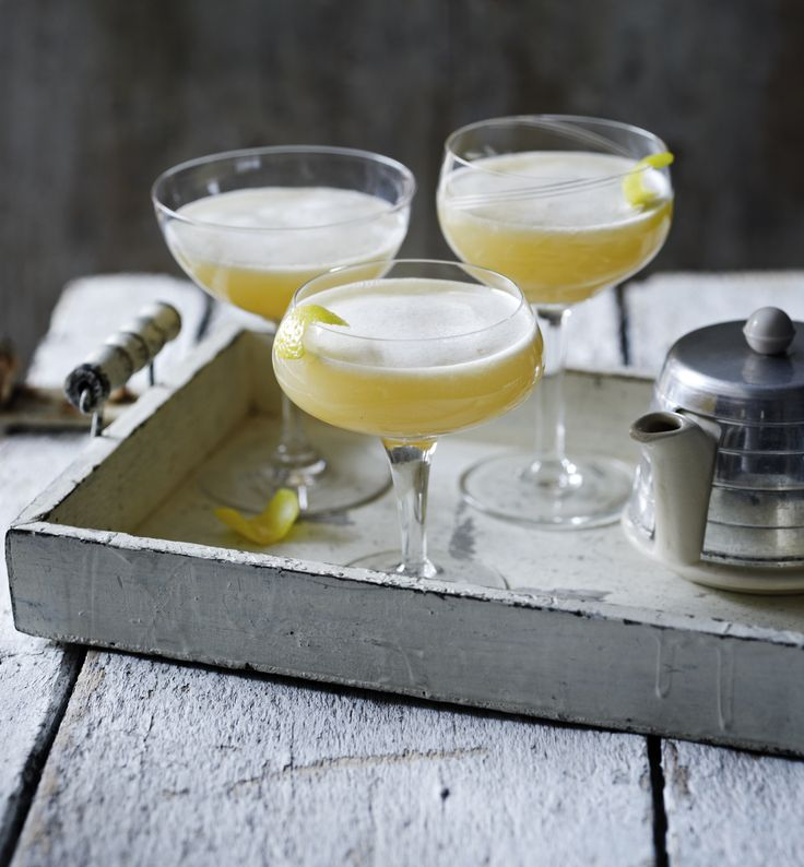 Try our Earl Grey martini recipe when you fancy something sophisticated