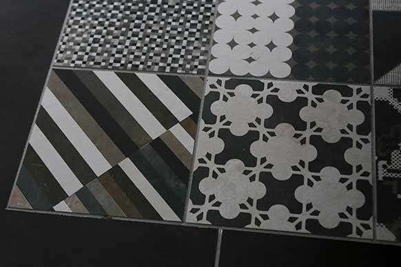 Azulej Nero Combination *IN STOCK at Urban Edge Ceramics