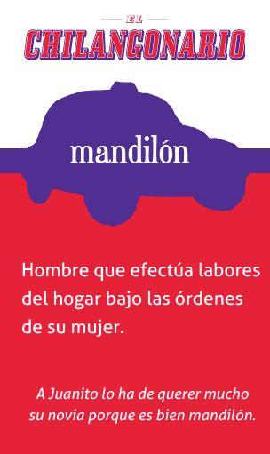«Mandilón», el póster de la semana en @ElChingonario:
