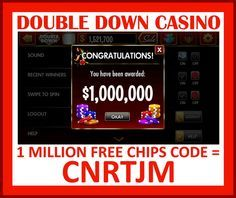 Double Down Casino Codes for FREE Chips. Updated weekly. Find new codes below for 1 million free chips! Play Wheel Of Fortune by IGT on your…