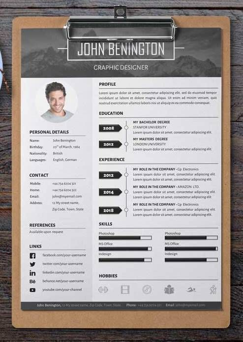 15 FREE Modern Resume Templates