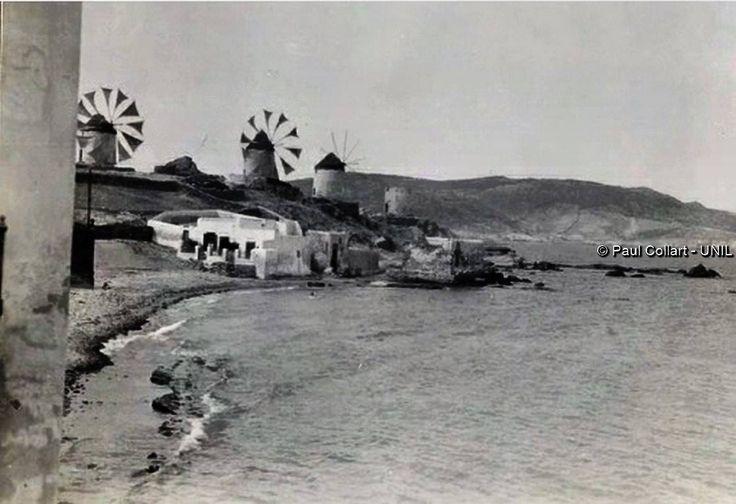 Μύκονος. Paul Collart 1926 έως 1938. Πηγή: Liza's Photographic Archive of Greece - Φωτογραφικά άλμπουμ της Ελλάδας.