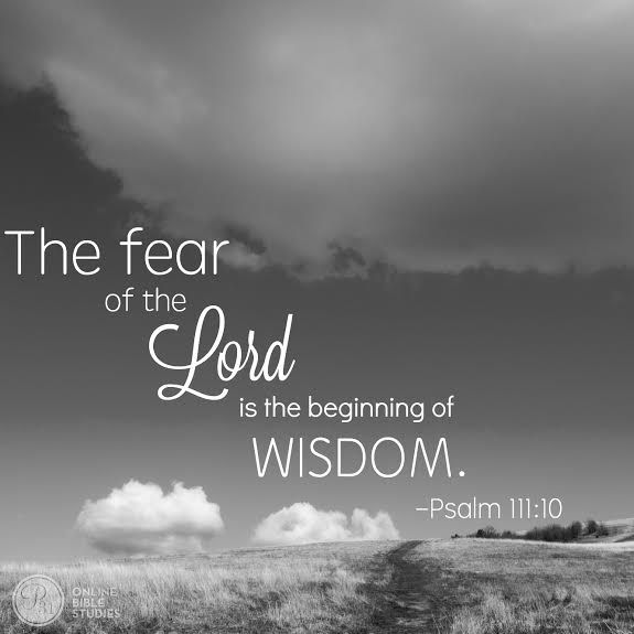 What does it mean to fear God? | Christian Bible Studies