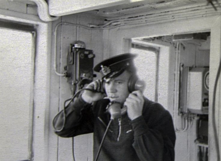 THE USSR. Old photo. Caspian sailor.