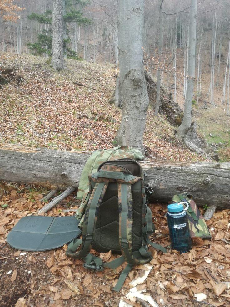 Flecktarn backpack