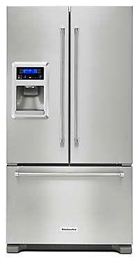 "20 cu. ft. 36""   Freestanding Refrigerator KRFC400ESS KitchenAid"