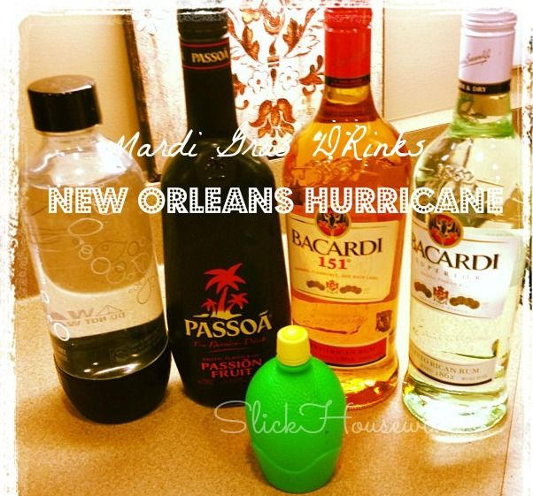 New Orleans Hurricane Drink Recipe