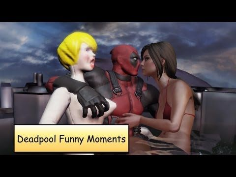 Deadpool Funny Moments Compilation | Funny Cut Scenes Gameplay - YouTube