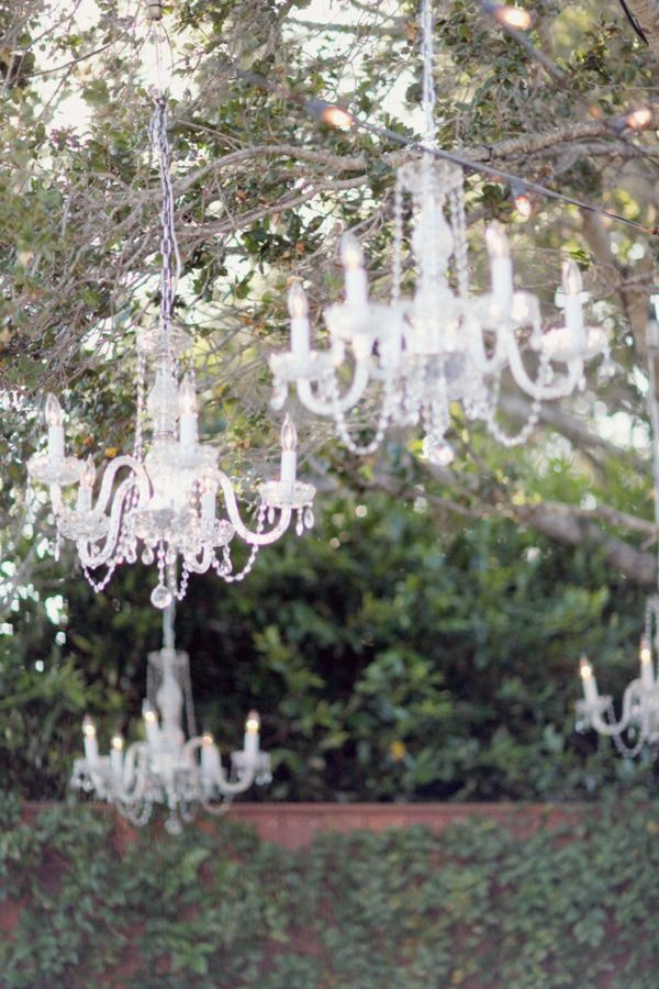 17 Best Images About I Love Chandeliers In Trees On