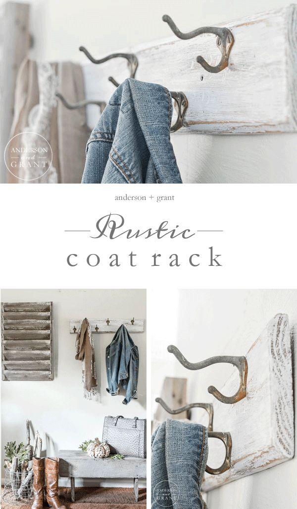 tutorial for creating a rustic coat