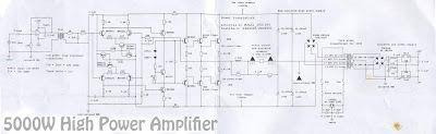 Power Amplifier, Audio Circuit, High Power Amplifier, Electronic Circuit, Amplifier circuit diagram, Power Amplifier circuit, Subwoofer amplifier, pre amplifier