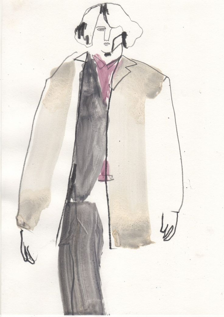 Illustration by Helen Bullock - Prada @ Milan Menswear A/W 2013 - SHOWstudio - The Home of Fashion Film