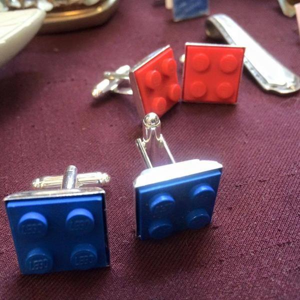 Cufflinks - Lego Cufflinks