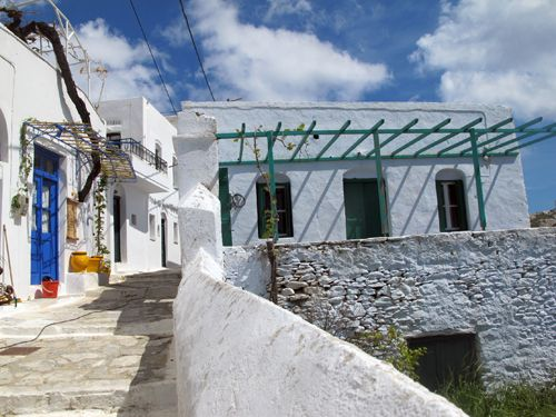 Beautiful chora, Amorgos
