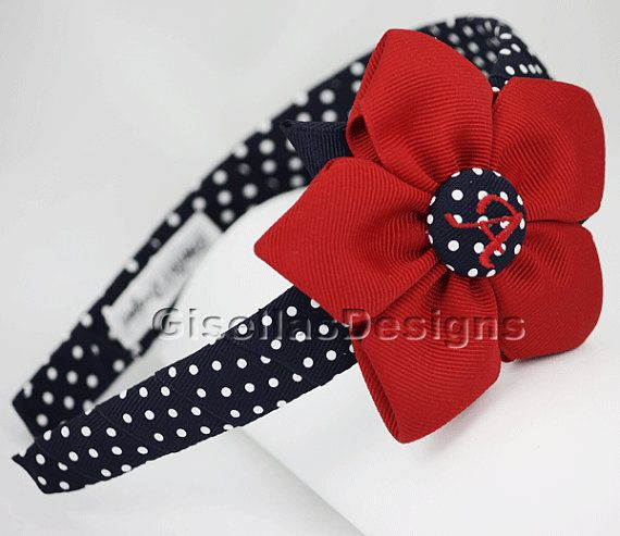 Hey, I found this really awesome Etsy listing at https://www.etsy.com/listing/92250601/personalized-flower-headband-school