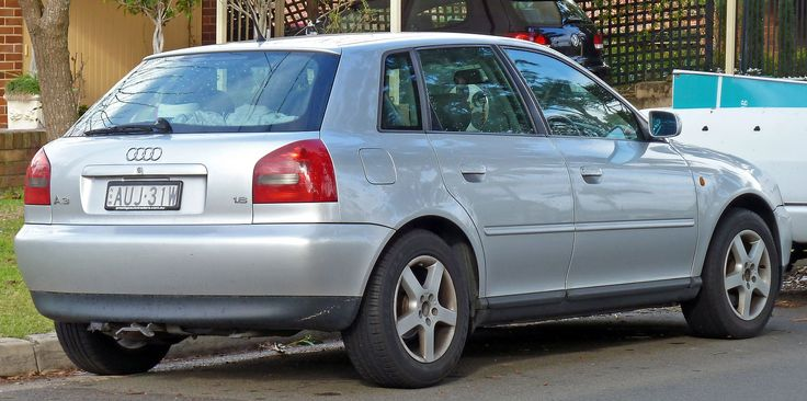 1999-2000 Audi A3 (8L) 1.8 5-door hatchback 01 - Audi A3 - Wikipedia
