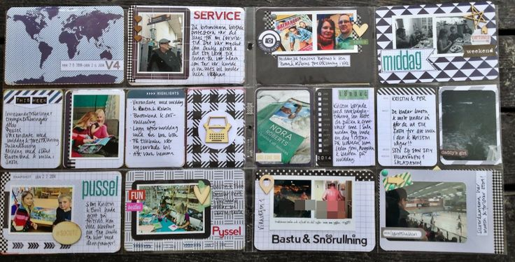 Week 4 using Elder Core Kit from Becky Higgins. The pages are made by MiaKL for Scrap-Perra