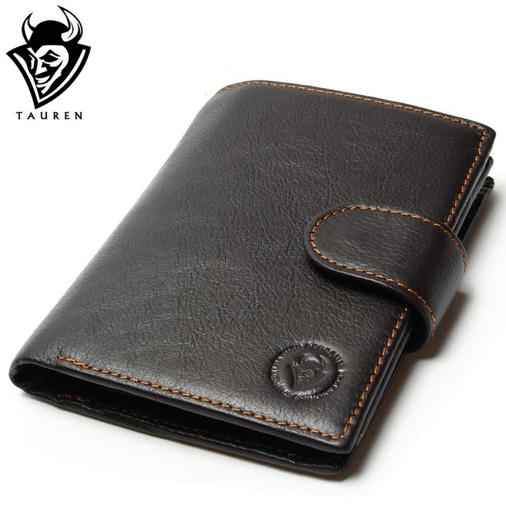 Retro Oil Waxed Cowhide Leather Travel Wallet //Price: $25.74 & FREE Shipping //     #StyleWallet