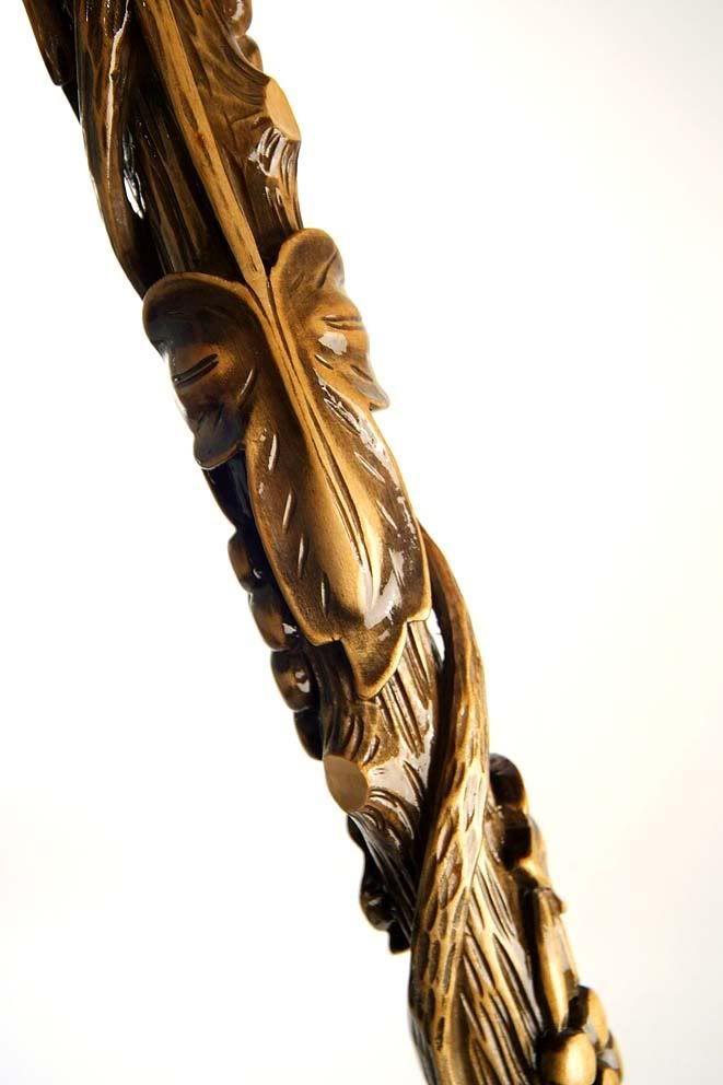 Hand Carved Walking Canes   Details about LEADER - VIP Hand Carved Wooden Cane Walking Stick