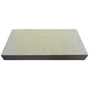 Vermiculite Fire Brick - (1 Brick) 230mm x 114mm x 25mm - Vermiculite fire boards / bricks are specially manufactured from a group of hydrated laminar minerals silicates. Vermiculite is a safe odourless inert material and copes with temperatures in excess of 1100 Deg C.