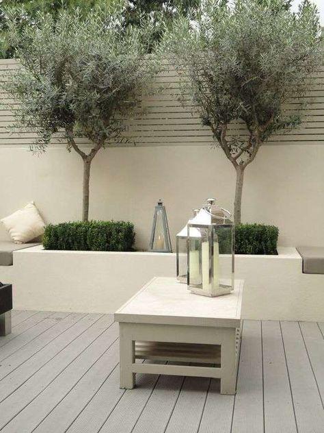 Come decorare un giardino moderno - Lanterne in stile moderno