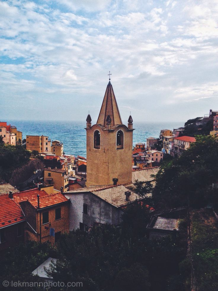 The village, dating from the early thirteenth century, is known for its historic character and its wine, produced by the town's vineyards. Riomaggiore is in the Riviera di Levante region and has shoreline on the Mediterranean's Gulf of Genoa, with a small beach and a wharf framed by tower houses. Riomaggiore's main street is Via Colombo, where numerous restaurants, bars and shops can be found.