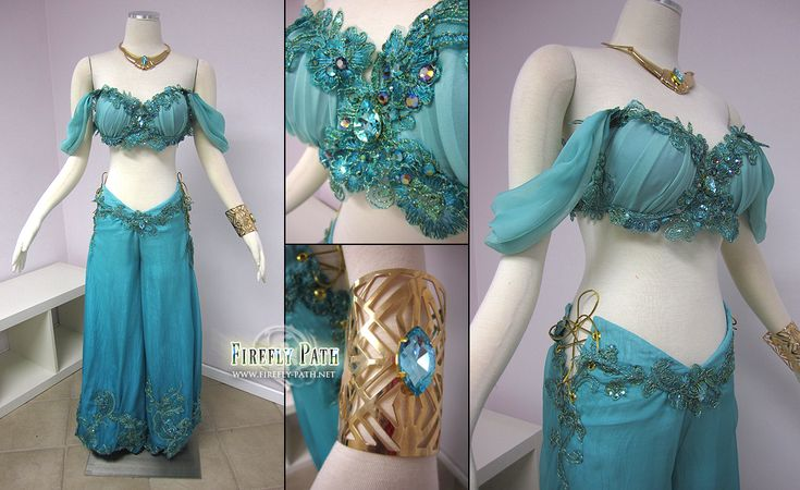 Disney Princess Jasmine Costume by *Lillyxandra on deviantART