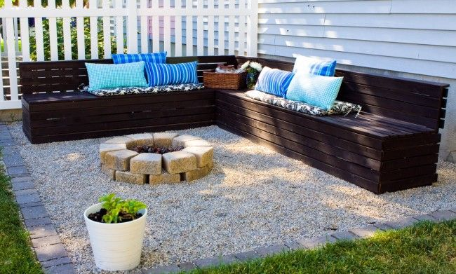 Patio ideas with fire pit on a budget on backyard sandbox for Patio ideas with fire pit on a budget