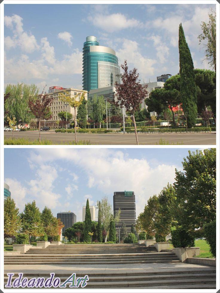 Jardines de los Nuevos Ministerios en Madrid by IdeandoArt