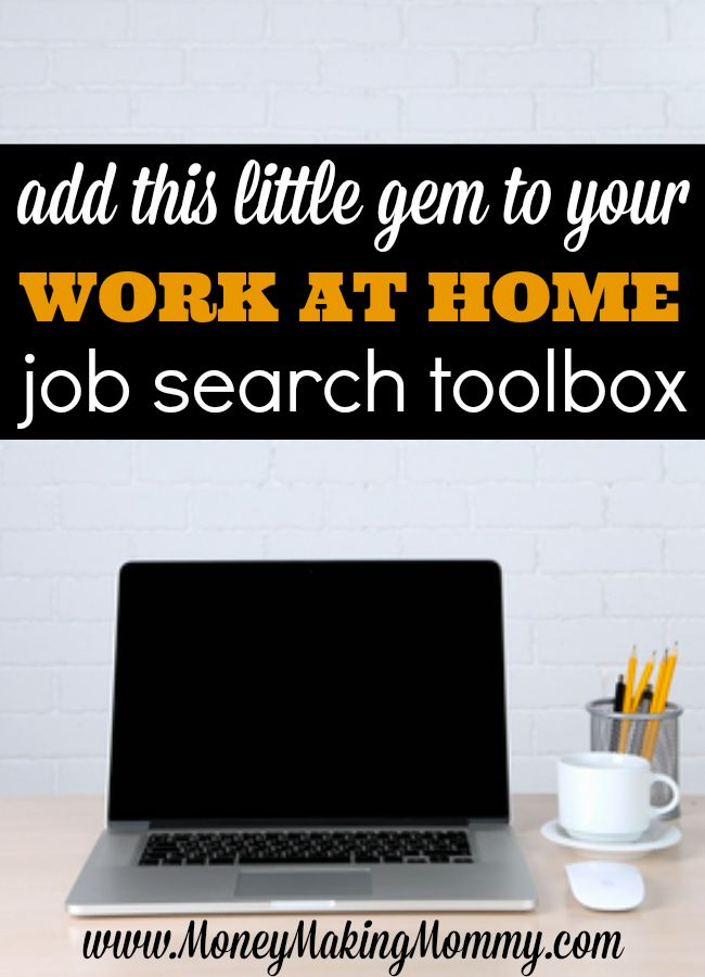You need every tool you can have in your job search arsenal. Here's one you may not have thought about to help you land a work at home job or freelance work. MoneyMakingMommy.com uses this tool daily!