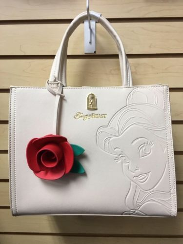 97fb70c73b8  85 Loungefly-Beauty-And-The-Beast-Purse-With-Floral-Inside-Pattern-And-Rose