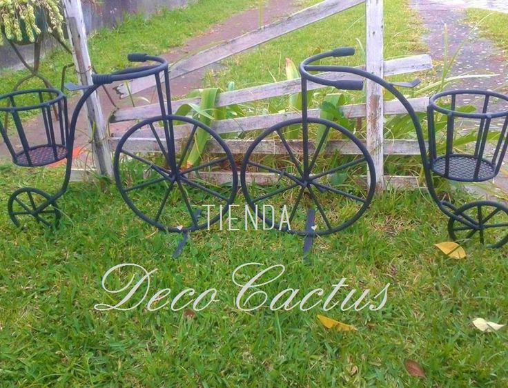 Bicicletas antiguas con porta macetas: Tienda Deco C