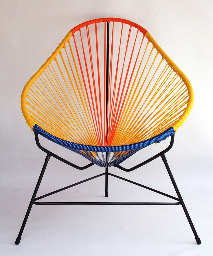 Acapulco chair in cool colour combination!