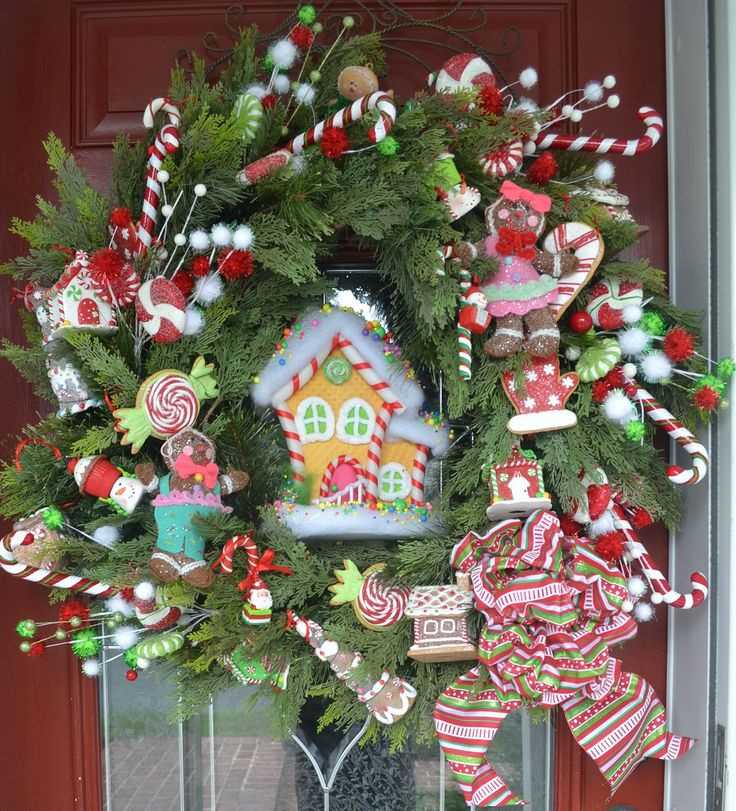 1000+ Images About Candy Themed Christmas Decorations On