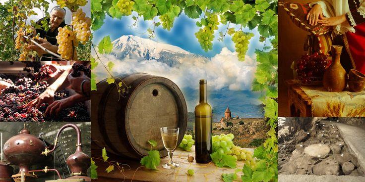 Винно-водочные изделия Армении