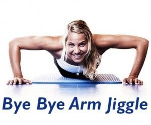 Bye Bye Arm Jiggle ( A Quick 15-minute Arm Workout ) :  http://positivemed.com/2013/05/08/bye-bye-arm-jiggle-a-quick-15-minute-arm-workout/