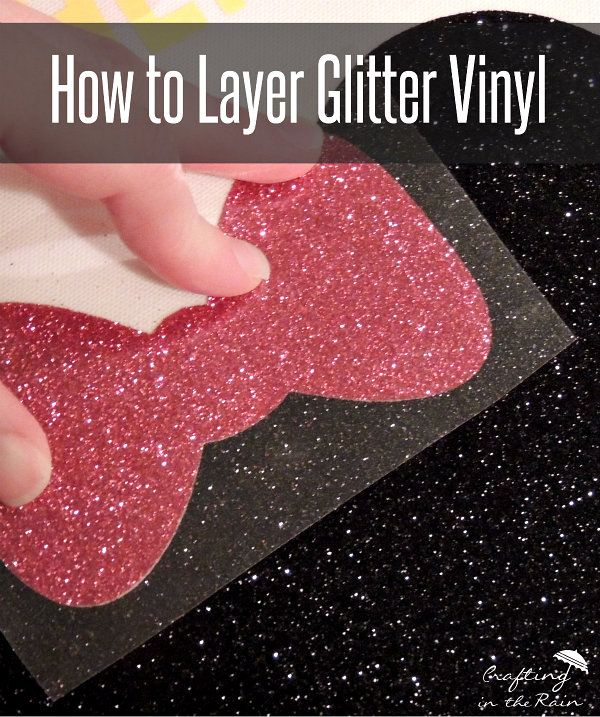 Glitter Vinyl Disney Bag | Crafting in the Rain