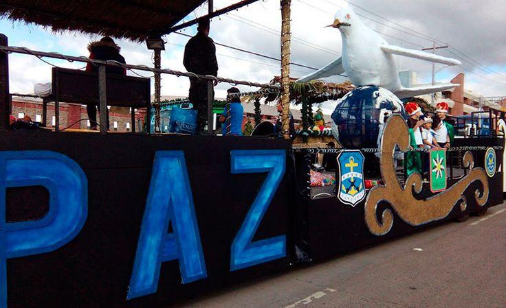 Vistoso desfile de carrozas en Tegucigalpa - Diario La Tribuna