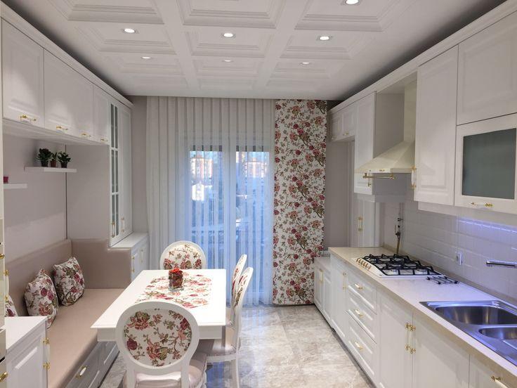 #country #mutfak #mutfak tasarımı #beyaz mutfak #şık #klasik mutfak #yemek masası #özel tasarım #sandalye