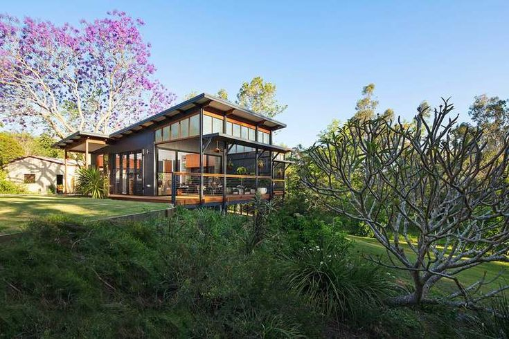 A modern retreat for an elderly couple built on the family property - the perfect spot to enjoy retirement close to family.