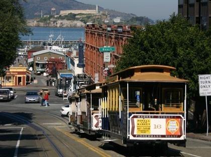 San Francisco, street car