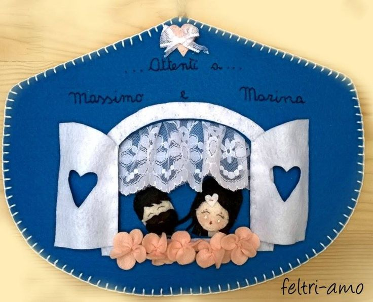 targhetta personalizzata . www.facebook.com/feltriamo