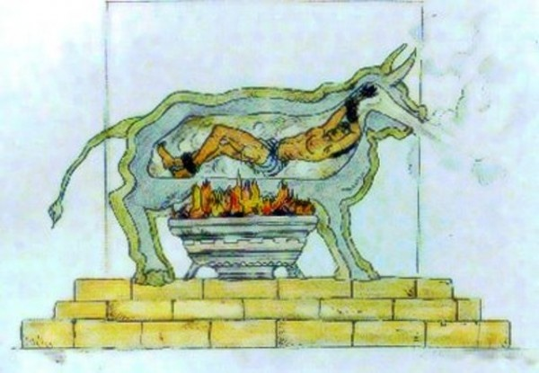 Brazen Bull method of torture