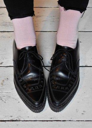 Kaufe meinen Artikel bei #Kleiderkreisel http://www.kleiderkreisel.de/damenschuhe/halbschuhe/159885355-underground-creeper-barfly #underground #barfly #creeper #creepers #black #schwarz #platform #flatform #shoes