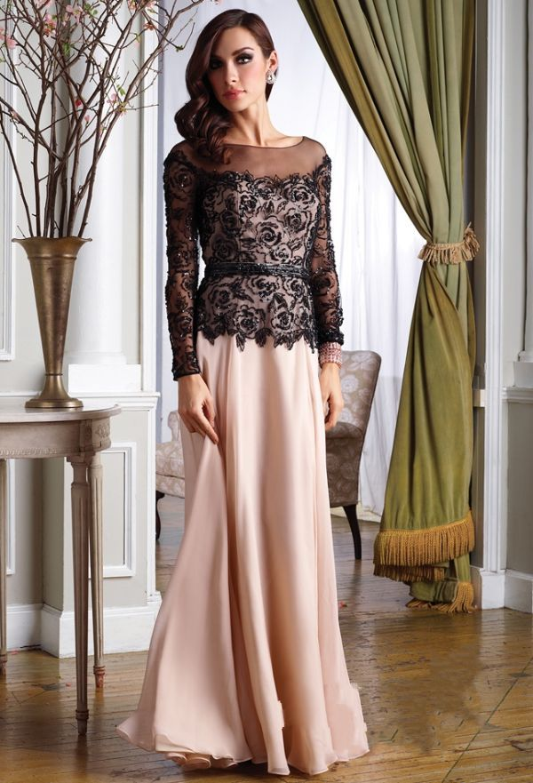 2014 hijab soiree gown dress