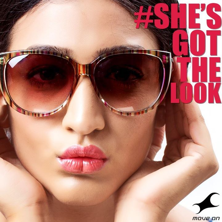 We say the bigger, the better! #ShesGotTheLook #FastrackSunglasses  #Color #Fashion #Big #Oversized