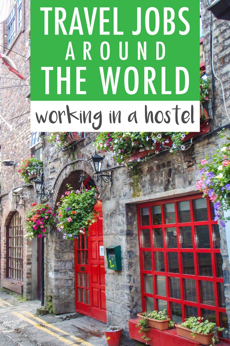 Travel Jobs Around the World: Working in a Hostel