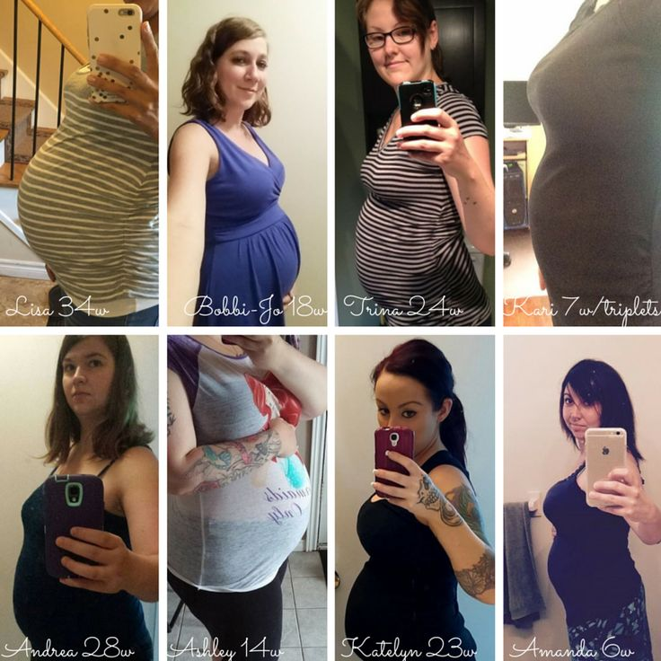 Some of our beautiful surrogates and their beautiful bellies!